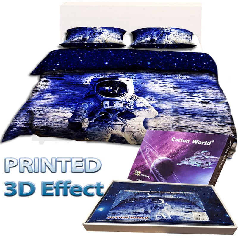 Bed linen MAN ON THE MOON double bed size